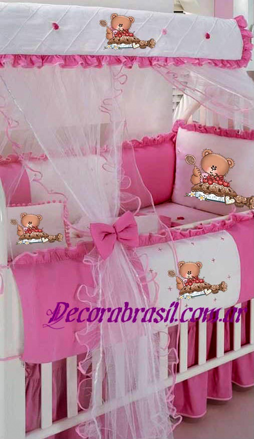Decoraci n para habitaci n de bebes y ni os decorabrasil for Como decorar una cuna
